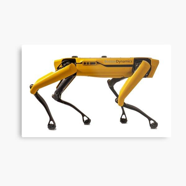Boston Dynamics Robot Dog (version 2.0) Metal Print