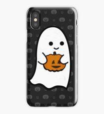 Cute Ghost's Jack o' Lantern iPhone Case/Skin