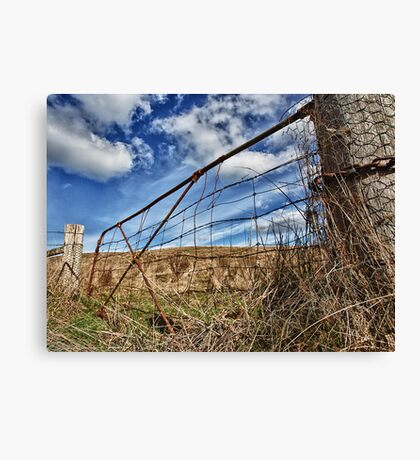 At Heaven's gate Canvas Print