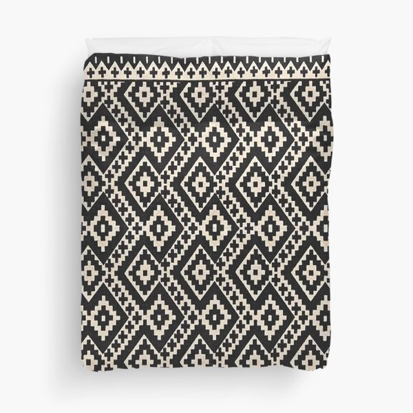 Farmhouse & Rustic Style Oriental Traditional Moroccan Design. Duvet Cover
