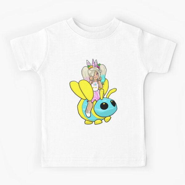 Adopt me Neon Bee Kids T-Shirt