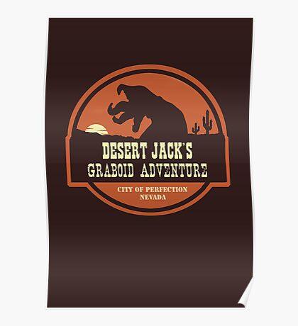 Desert Jack's Graboid Adventure logo Poster