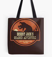 Desert Jack's Graboid Adventure logo Tote Bag