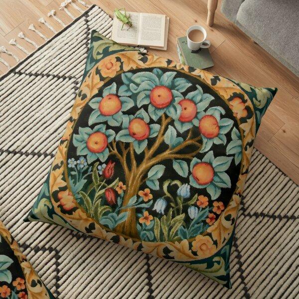"""William Morris """"Oranger"""" Coussin de sol"""