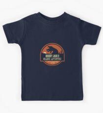 Desert Jack's Graboid Adventure logo Kids Tee
