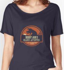 Desert Jack's Graboid Adventure logo Women's Relaxed Fit T-Shirt