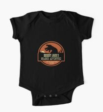 Desert Jack's Graboid Adventure logo One Piece - Short Sleeve