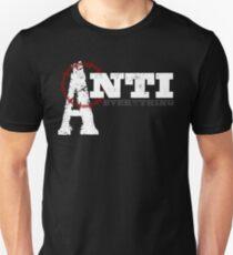 Anti-Everything Anarchist Punk Design T-Shirt