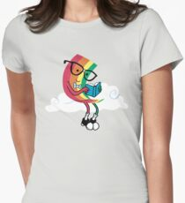 Reading Rainbow Women's Fitted T-Shirt