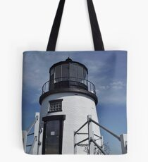 Owl's Head Lighthouse Tote Bag