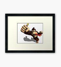 Donkey King-Kong Framed Print