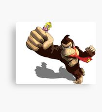 Donkey King-Kong Canvas Print