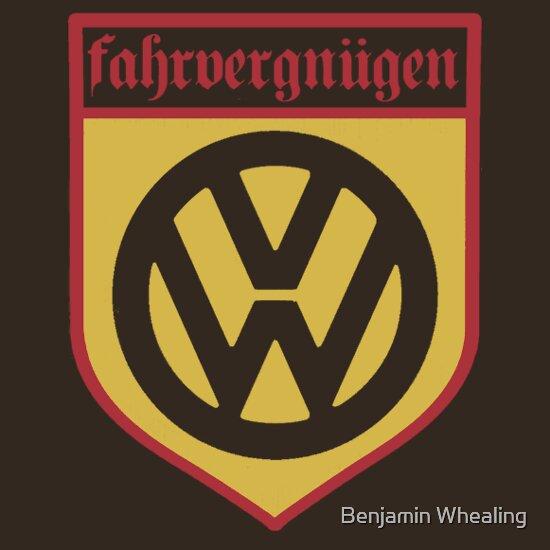 Fahrvergnugen A T Shirt Of Cool Retro Classic Funky Car Kombi Volkswagen Vw Beetle Golf Dub Old School German Gti Fahrvergnugen And Driving Pleasure Goodness The purist, альбом pyrex scholar. t shirt gifter