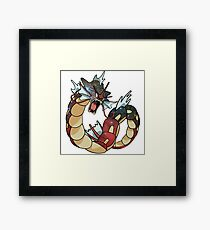 Gyarados - Pokemon Framed Print