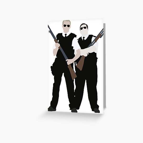 Hot Fuzz Greeting Card