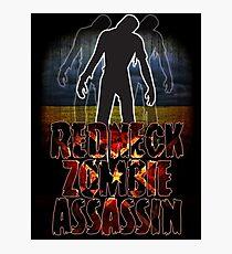Redneck Zombie Assassin Photographic Print