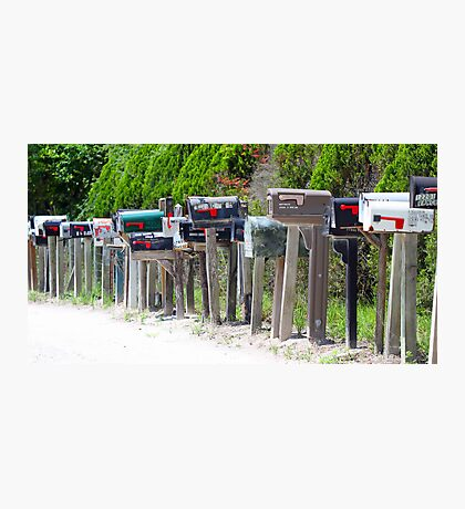 A mailbox haven ! Photographic Print