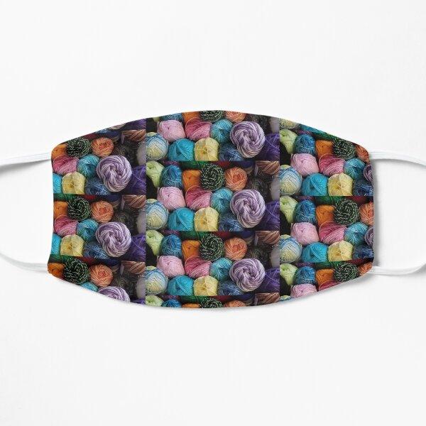 Cotton Yarn Basket Flat Mask