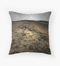 Climbing Mt Doom Throw Pillow