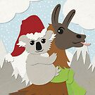 Koa-Llama Holidays by wanderingkotka