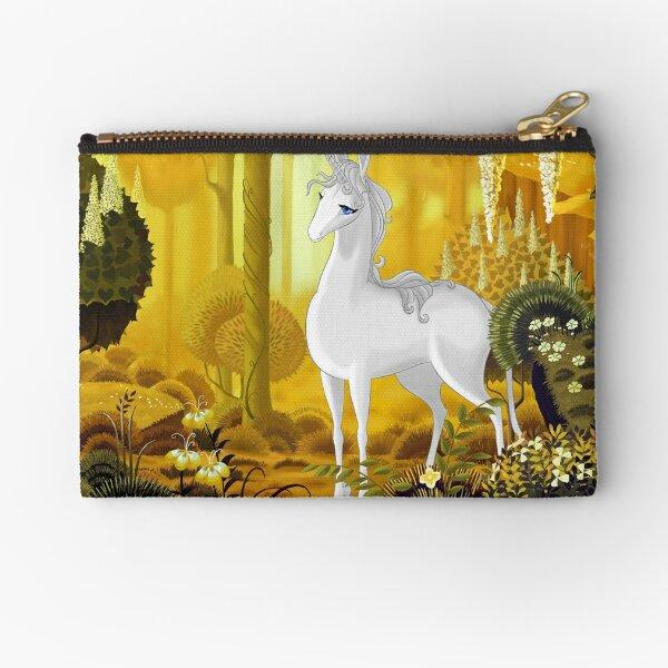 The Last Unicorn Zipper Pouch