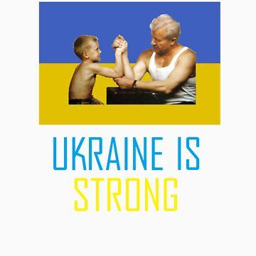 Ukraine is Strong by crazyhorse