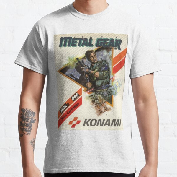 metal gear メタルギア Classic T-Shirt