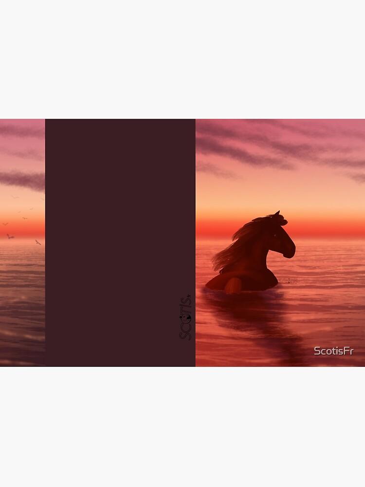 «Couché de soleil [Cheval]» par ScotisFr