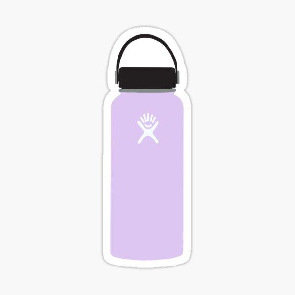 Purple Water Bottle Sticker