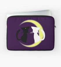 Sailor Moon Luna et Artemis Housse de laptop