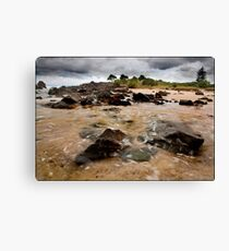 Incoming Tide 2 Canvas Print