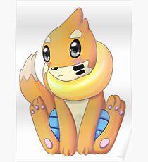 Mustebouee pokémon Poster