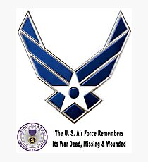 Air Force Remembers  Photographic Print
