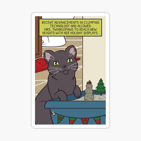 Mrs. Twinklepaws' Holiday Display Sticker