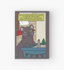 Mrs. Twinklepaws' Holiday Display Hardcover Journal
