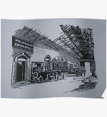 Midland Railway Goods Office Poster