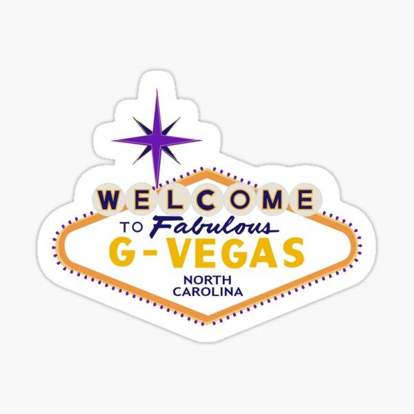 G- Vegas (Greenville, NC) Sign Sticker