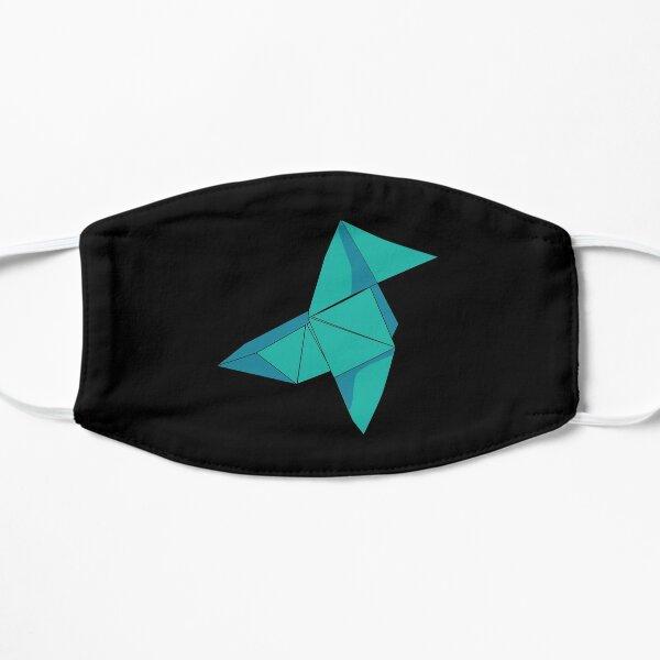 Money heist Blue Origami Flat Mask