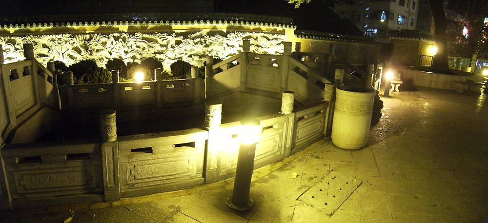 Chinese Garden by cadellin