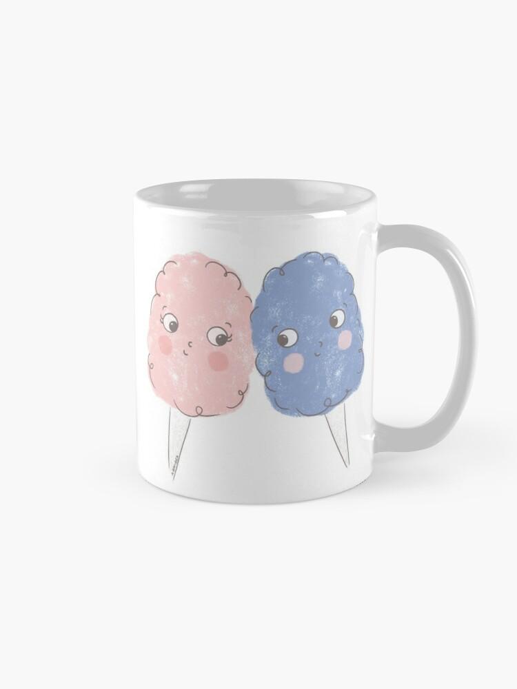 Alternate view of Cute Cotton Candy - Rose Quartz & Serenity Mug