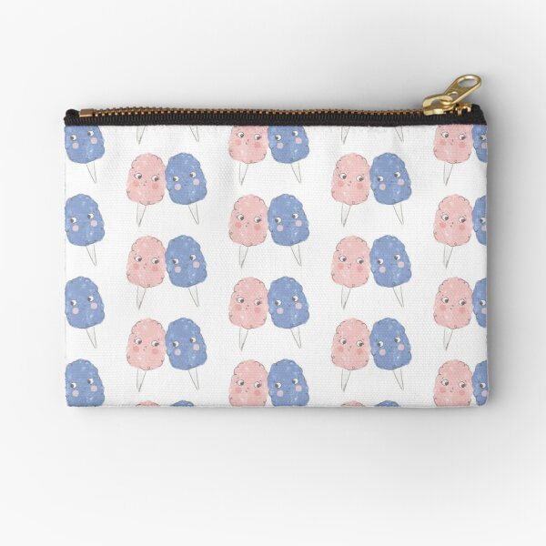 Cute Cotton Candy - Rose Quartz & Serenity Zipper Pouch