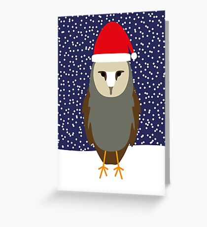 NDVH Christmas Owl Greeting Card