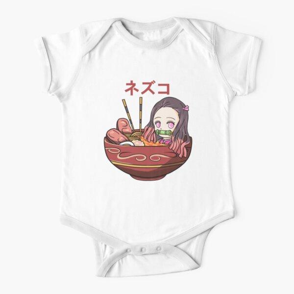 Ramen Nezuko Short Sleeve Baby One-Piece