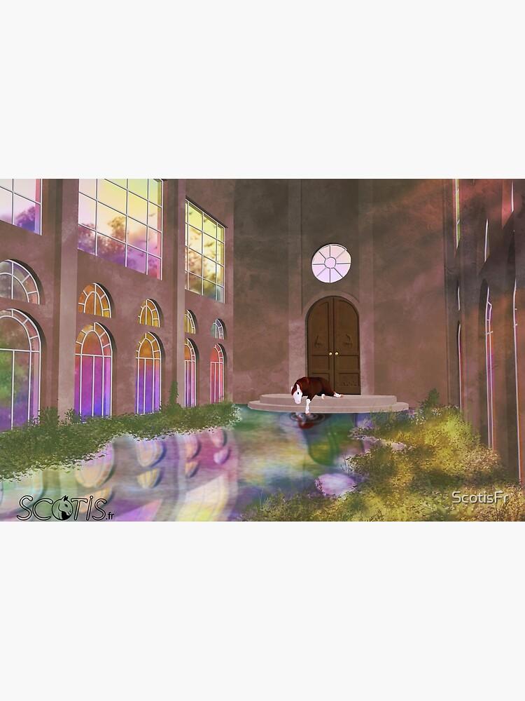 «Réverbération d'arc-en-ciel [Cheval]» par ScotisFr