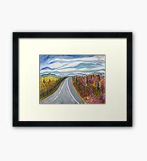 Road to Charlottesville Framed Print