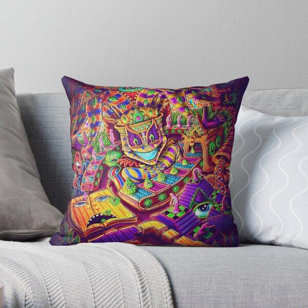 Kappa Factory Throw Pillow