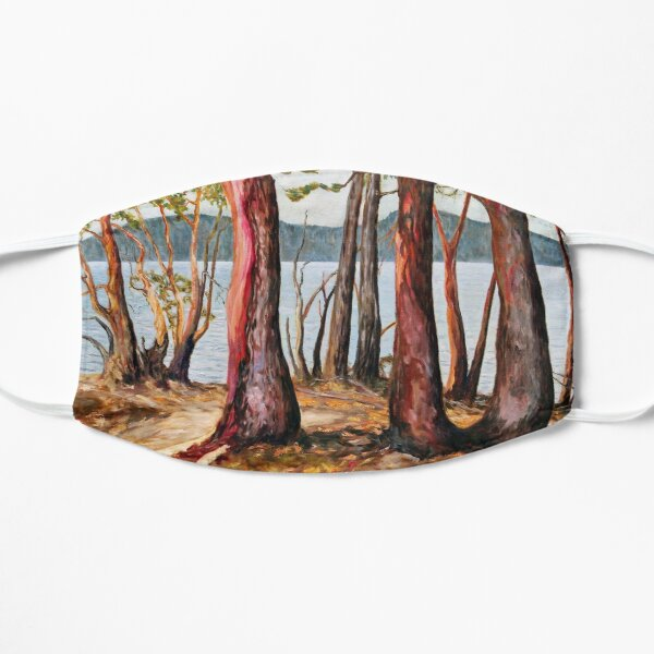 Morning With Arbutus Trees Mask