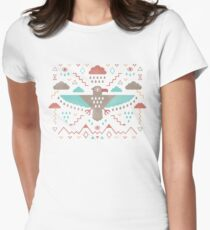 The Legend of Thunderbird Womens Fitted T-Shirt