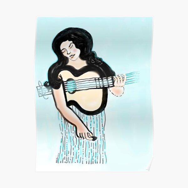Guitar Muse Poster