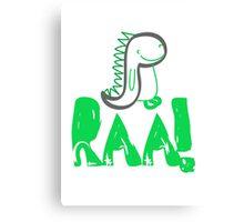 Raa Dinosaur Canvas Print